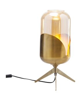 Table Lamp Golden Goblet Pole