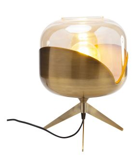 Table Lamp Golden Goblet Ball (Excluding Bulb)