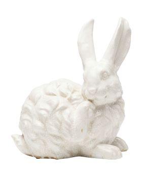 Deco Object Rabbit White 31Cm