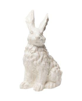 Deco Object Rabbit White 47Cm