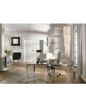 Desk Lorenco Corner Chrome
