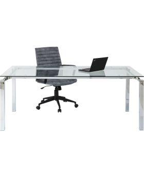 Table Lorenco Chrome 180x90cm