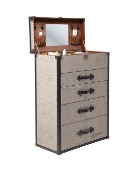 Dresser Vintage Make Up 4 Drawers