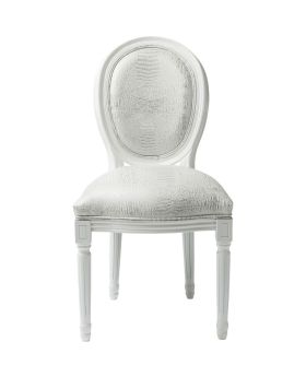 Chair Gastro Louis White Croco