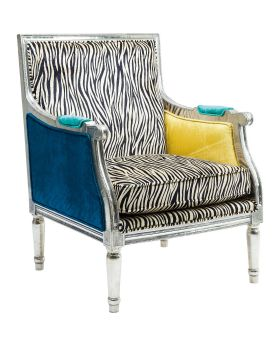 Armchair Regency Zebra