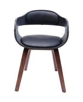 Chair with Armrest Costa Walnut