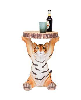 Side Table Animal Tiger Ø35cm