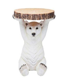 Side Table Animal Polar Bear Ø37cm