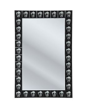 Mirror Skull Movie 120x80cm