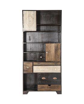 Shelf Finca 2 Doors 6 Drw