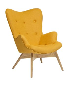Armchair Angels Wings Yellow Econo