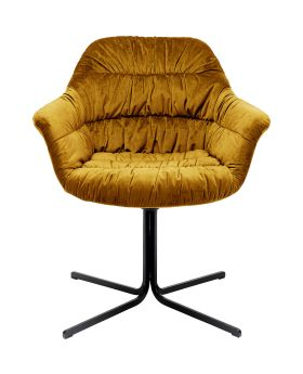 Swivel Chair Colmar Yellow
