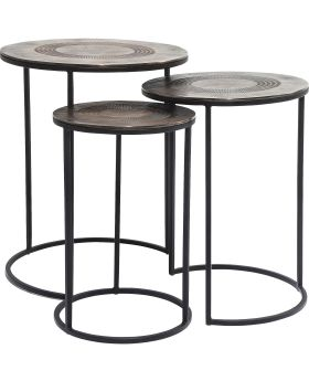 Side Table Marrakesh (3/Set) 48cm