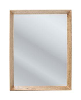 Mirror Rim Oak 44x34cm