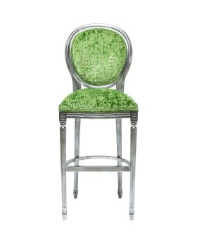 Bar Stool Posh Silber Green