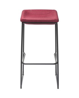 Bar Stool Shape Red