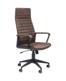 Office Chair Labora High Brown