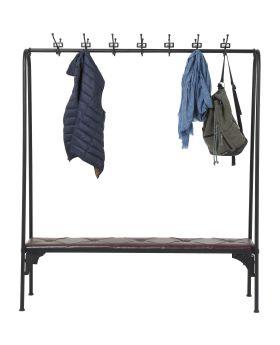 Coat Rack Gym Bench