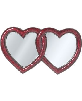 Mirror Mosaik Double Heart 100x165cm