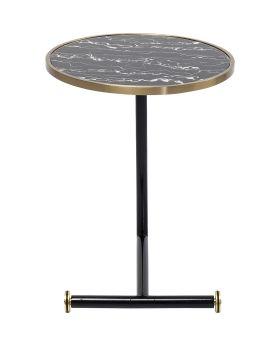 Side Table San Remo Pole Dia46Cm,Black