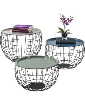 Coffee Table La Costa Wire (3/Set)