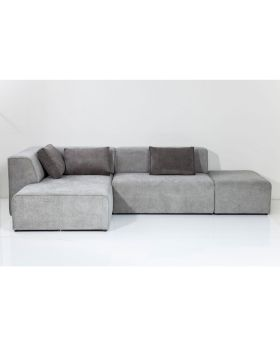 Sofa Infinity Ottomane Grey Left