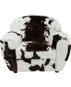 Arm Chair Country Side Cow