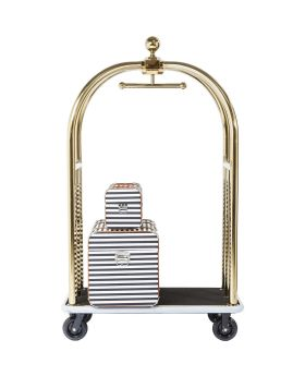 VIP Baggage Trolley Vegas Gold