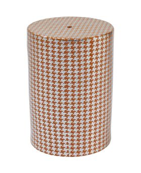 Stool Curve Orange
