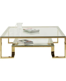 Coffee Table Gold Rush 120x120cm