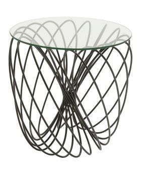 Side Table Wire Ball 45cm