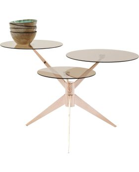 Coffee Table Bonsai Tre Rosegold