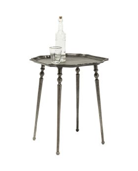 Side Table Endris Dark Silver