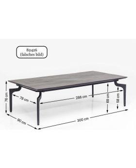 Table Bug 300x90cm