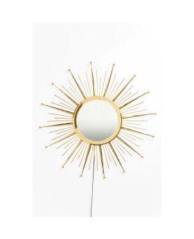 Mirror Sunburst LED Ø90cm