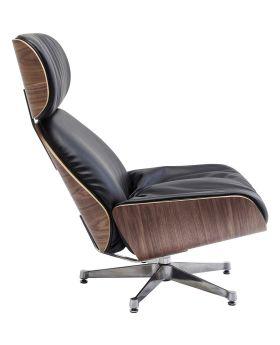 Swivel Chair Ponte Black