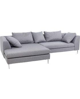Corner sofa Gianni Grey Left