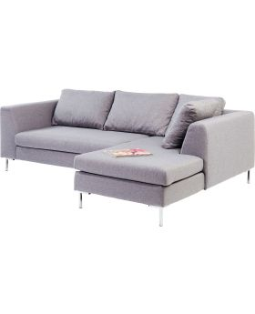 Corner Sofa Gianni Small Grey Right