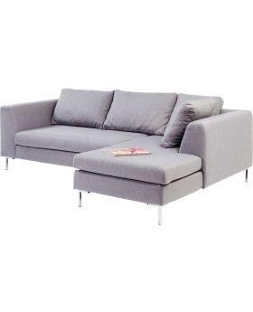 Corner Sofa Gianni Small Grey Right