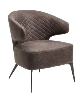 Armchair Amsterdam Grey