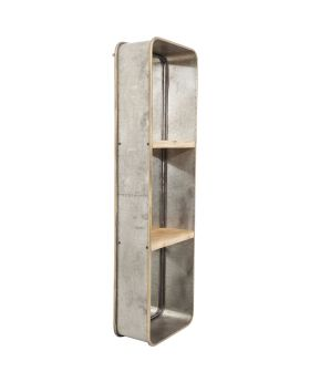 Mirror Curve Shelves 120x36cm
