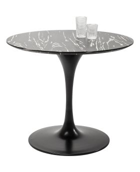 Table Top Invitation Round Ebony 90cm