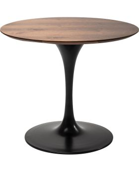 Table Top Invitation Round Walnut 90cm