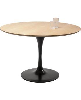 Table Top Invitation Round Oak 120cm