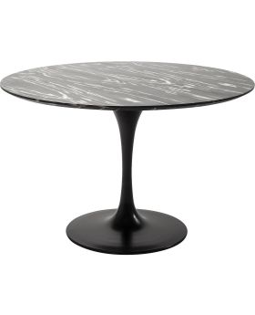 Table Top Invitation Round Ebony 120cm