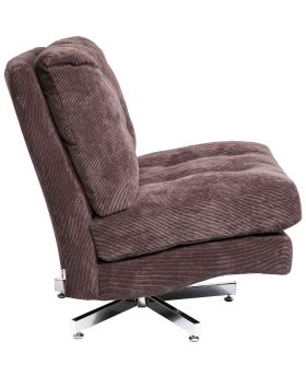 Swivel Chair Cinema Brown