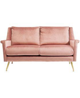 Sofa San Diego 2-Seater Rose 145cm