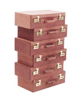 Dresser Suitcase Mauve