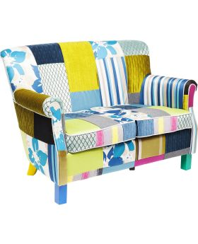 Sofa Patchwork Stripes 2-Seater