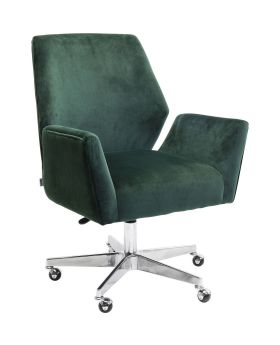 Swivel Armchair Chicago Green